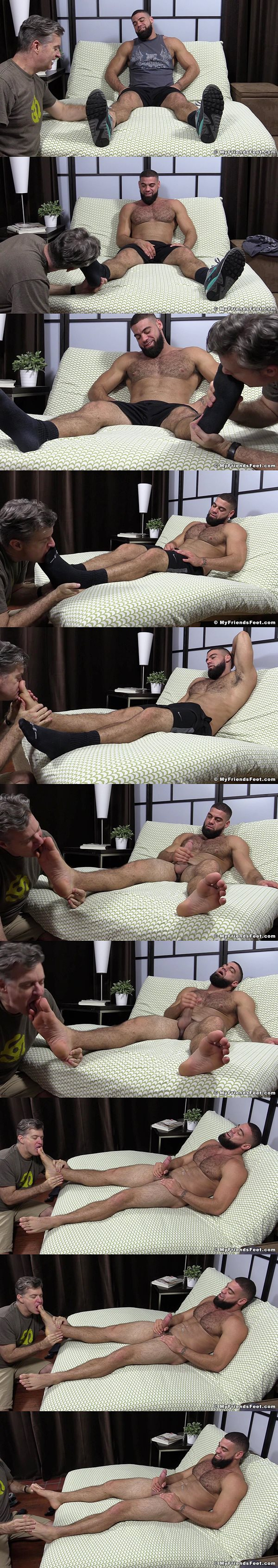 Karl Tickled & Ricky Larkin Foot Worshiped 03