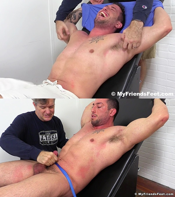 Myfriendsfeet - Casey More Jerked and Tickled 01