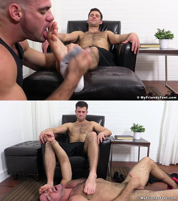 Myfriendsfeet - Coles Foot Slave Gets Off 01