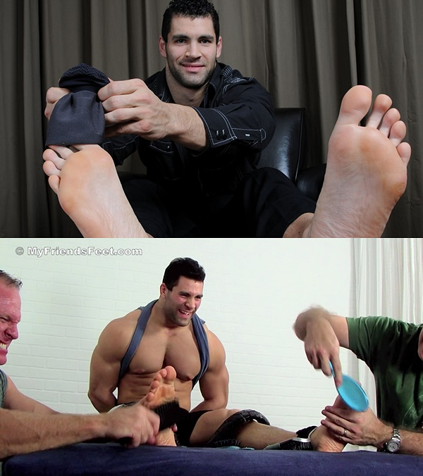 Myfriendsfeet - Muscle Stud Vinnie Tickled 01