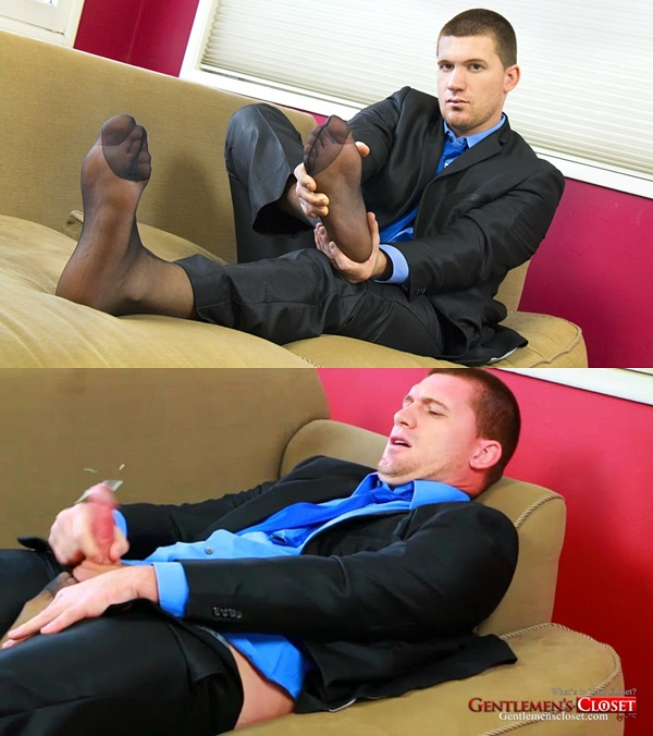 Gentlemenscloset - Victor Gold Toe and Sheer Socks 01