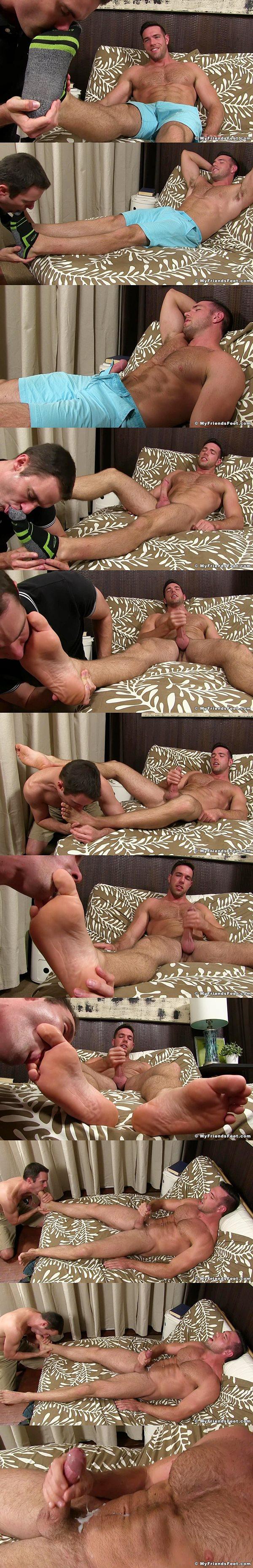 Myfriendsfeet - Alex Mecum Foot Serviced by Cameron Kincade 02