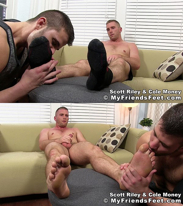 Myfriendsfeet - Cole Money Worships Scott Riley 01