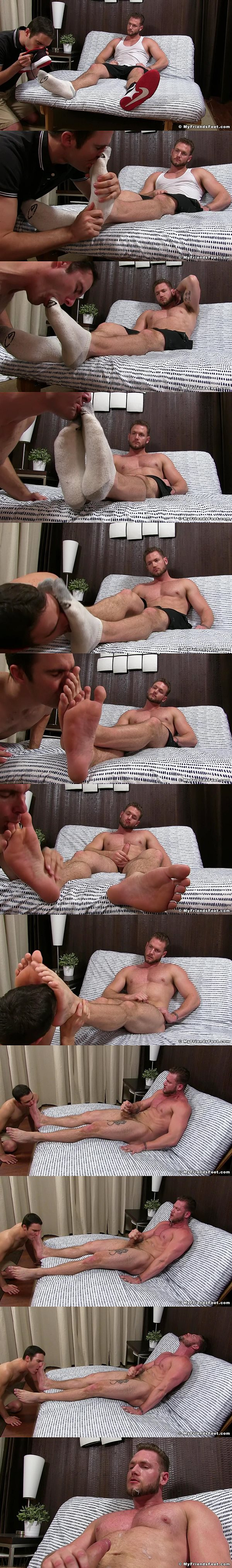 Myfriendsfeet - Ace Era Foot Worshiped by Cameron Kincade 02