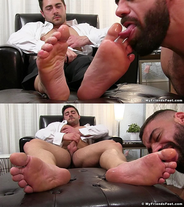 Myfriendsfeet - Derek Bolt Foot Worshiped 01
