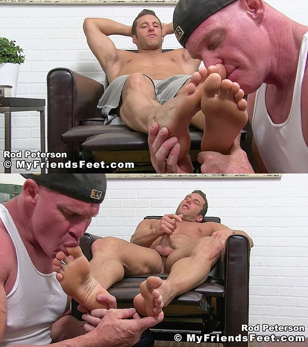 Myfriendsfeet - Rod Casts A Foot Worship Spell 01