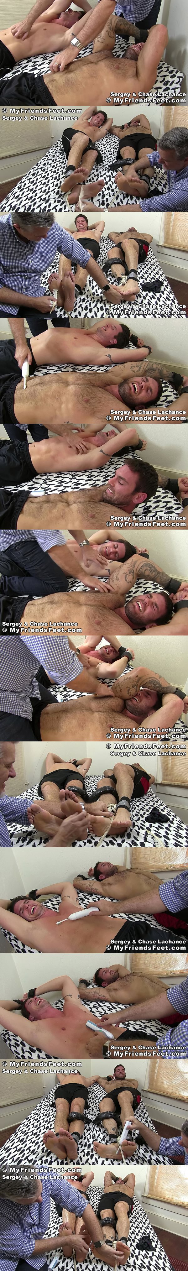 Myfriendsfeet - Chase Lachance and Sergey Tickled Together 02
