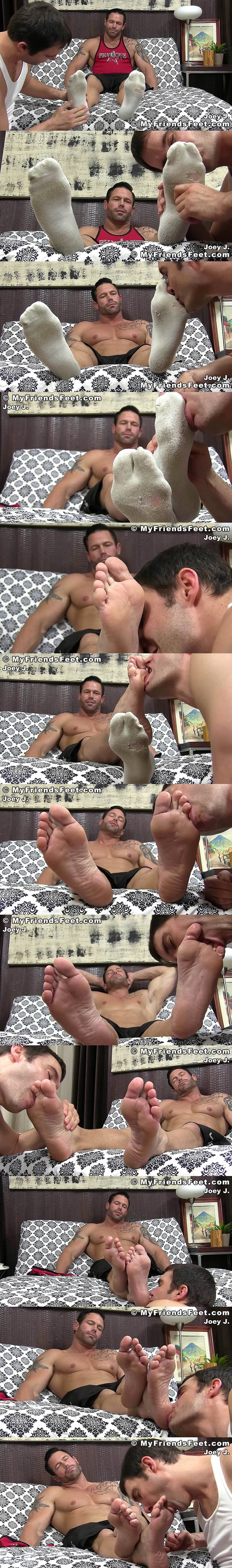 Myfriendsfeet - Joey Size 12 Feet Worshiped 02