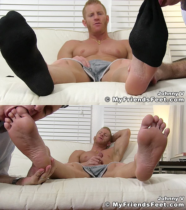Myfriendsfeet - Johnny V Worshiped Until He Cums 01