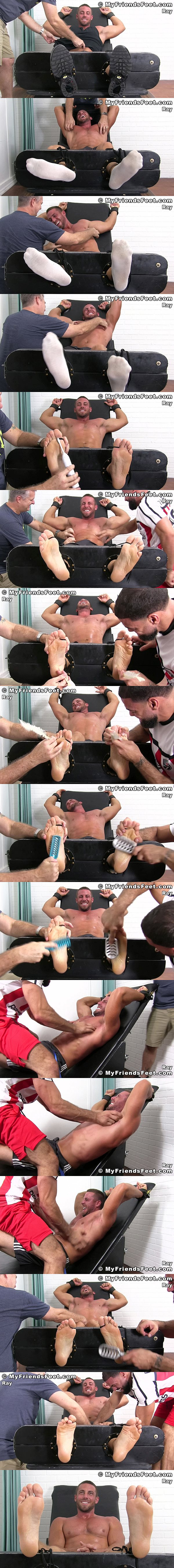 Myfriendsfeet - Hot New Guy Ray Tickled 02