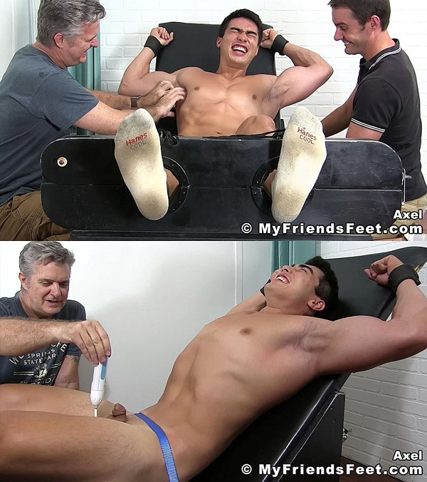 Myfriendsfeet - Axel Kane Tickled Naked 01