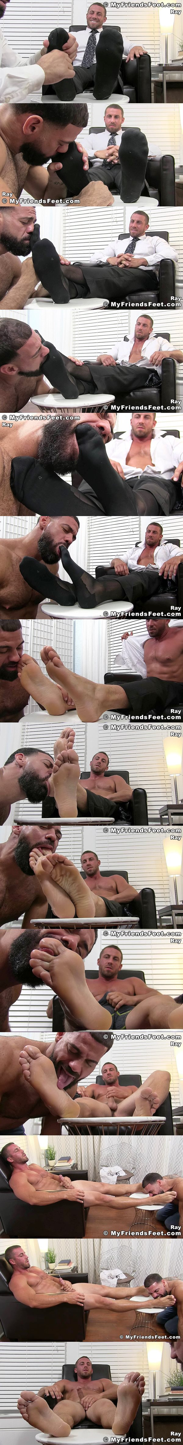 Myfriendsfeet - Businessman Ray Worshiped 02
