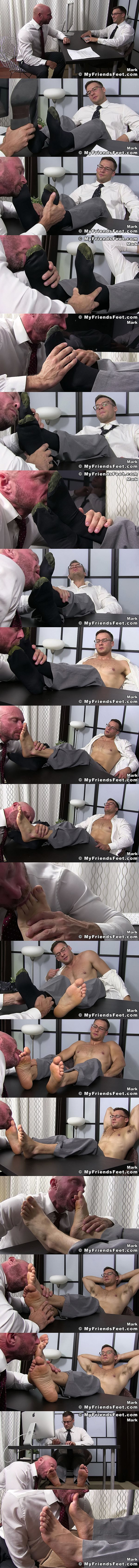 Myfriendsfeet - Killian Knox Worships Mark Summers 02