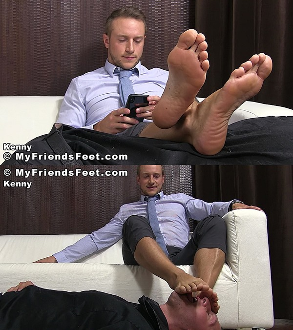 Myfriendsfeet - Kenny Serviced by Drake Tyler 01