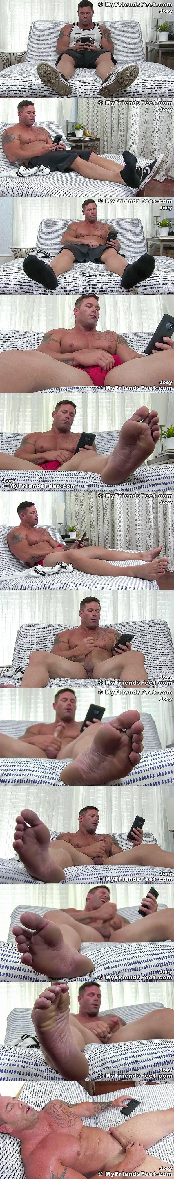 Myfriendsfeet - Joey J - Jackoff and Tickling 02