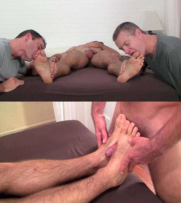 Myfriendsfeet - Clark Worshiped and Foot Fucked 01